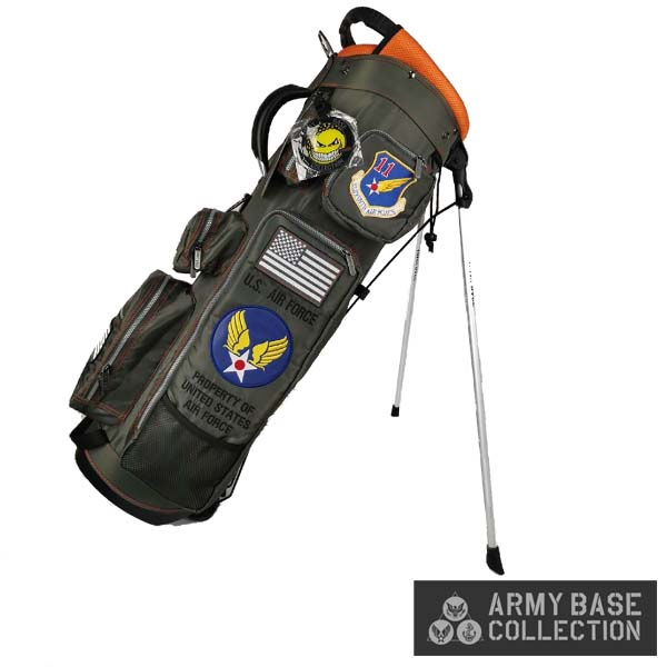 ARMY BASE COLLECTION/アーミーベースコレクション ABC-029SB STAND BAG U.S. AIR FORCE US エアフォース ABC029SB スタンドキャディバッグ 【送料無料】