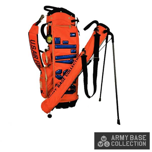 ARMY BASE COLLECTION/アーミーベースコレクション ABC-031SB STAND BAG U.S. AIR FORCE C2B2-SYSTEM US エアフォース ABC031SB スタンドキャディバッグ 【送料無料】