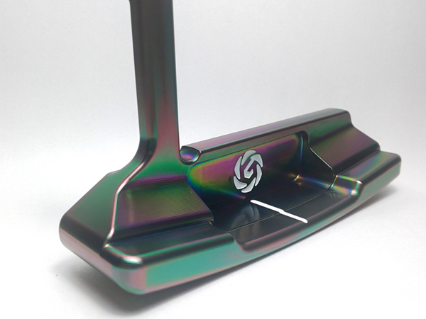 GeoGalaxy/ジオギャラクシー TOUR PUTTER JSS Type-H DLC CrN_mod ツアーパター タイプH ピンタイプ DLCコーティング 【送料無料】