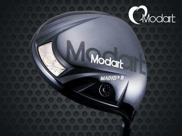 【カスタムオーダー】Modart/モダート MA01D+R DRIVER カスタムシャフト ドライバー 長尺モデル対応ヘッド ドラコン 【送料無料】