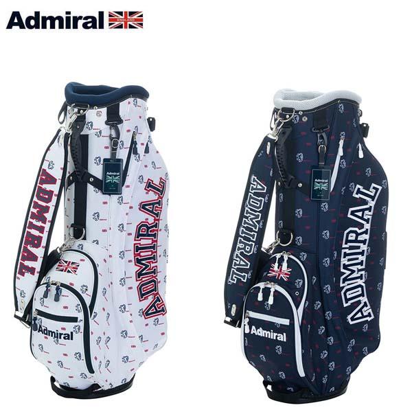 【2019年モデル】 Admiral Golf/アドミラルゴルフ モノグラム スタンドキャディバッグ ADMG9SC6 9.0型 46インチ対応 【送料無料】