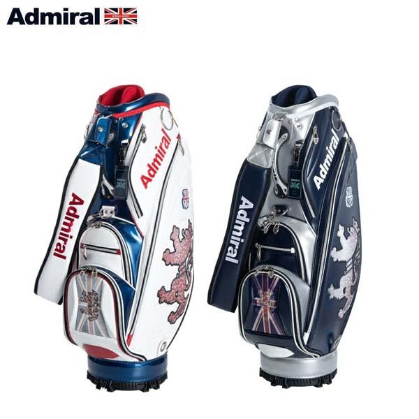 【2019年モデル】 Admiral Golf/アドミラルゴルフ ランパント フラッグレンチキュラー キャディバッグ ADMG9FC1 9.5型 46インチ対応 【送料無料】