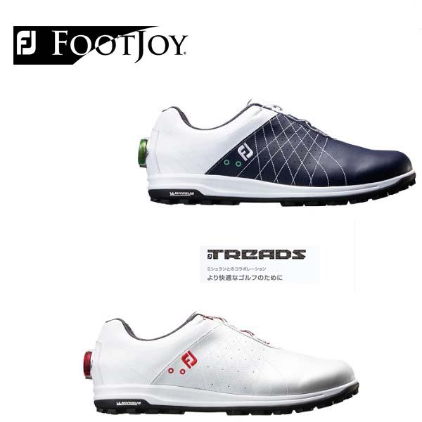 FootJoy/フットジョイ トレッドボア ゴルフシューズ TREADS Boa#56205 #56206 【ミシュランとのコラボレーション】 【2018年モデル】【日本正規モデル】【送料無料】
