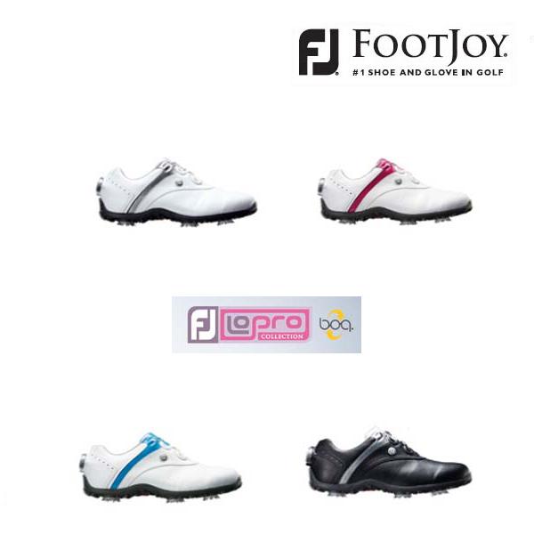 Foot Joy/フットジョイ ロープロファイル スポーツスパイク ボア LoPro SPORTSSPIKE Boa #97158 #97170 #97180 #97186 【2018年レディースモデル】【送料無料】