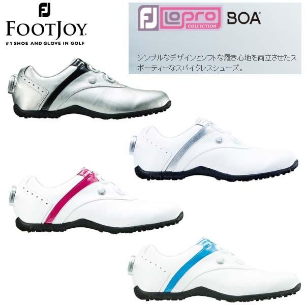 Foot Joy/フットジョイ ロープロファイル スパイクレス ボア LoPro Spikeless Boa #97187 #97191 #97194 #97195 【2018年レディースモデル】【送料無料】