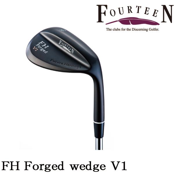 2018年2月10日発売予定FOURTEEN/フォーティーンFH Forged wedge V1FH Forged V1 ウェッジマットブラック仕上げNS PRO 950GH HT/TS-114w【送料無料】