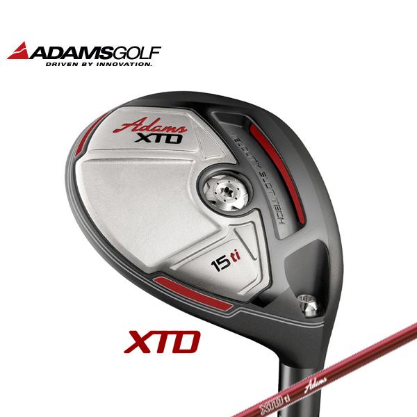 【日本仕様】Adams Golf XTD Ti フェアウェイウッド MITSUBISHI RAYON シャフト(カーボンシャフト)装着 アダムスゴルフ チタニウムXTD Titanium Fairway Wood/FW【送料無料】