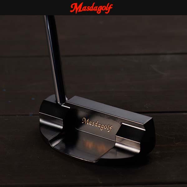 Masda Golf/マスダゴルフ スタジオ3 マレット型パター STUDIO-3/STUDIO3 MALLET PUTTERブラックコート仕上げ 【受注生産モデル】【送料無料】