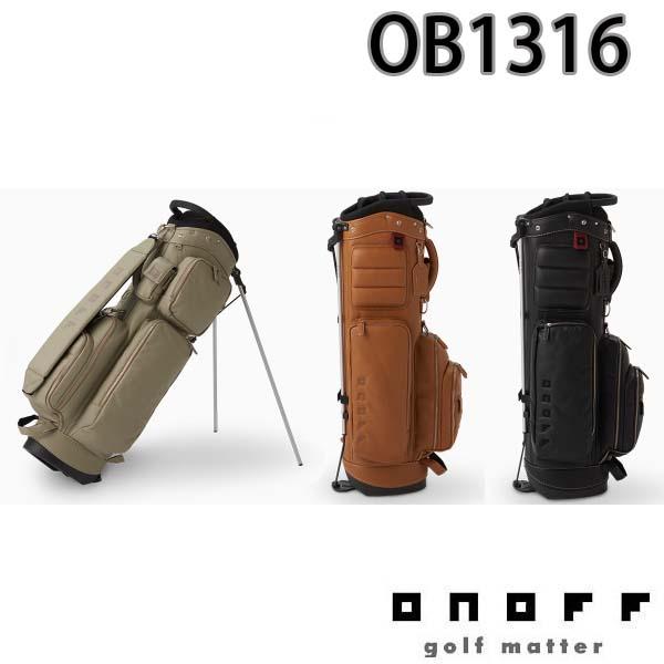 【2016年モデル】ONOFF/オノフ OB1316 スタンドキャディバッグ 9型 グローブライド/Globeride 【送料無料】