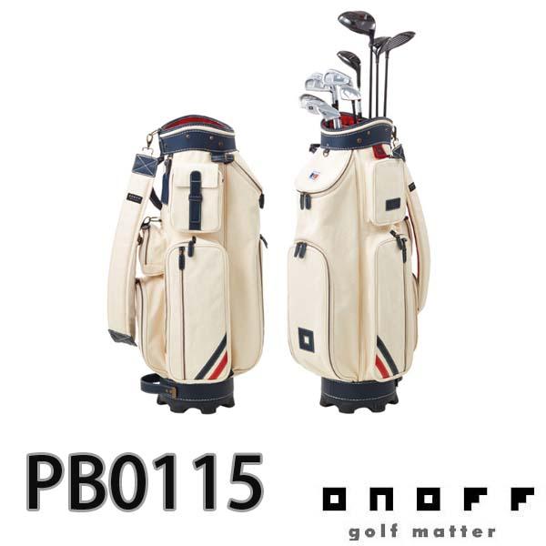 ONOFF/オノフ PB0115 キャディバッグ 8.5型 グローブライド/Globeride パトリック/PATRICK コラボレーションモデル 【送料無料】