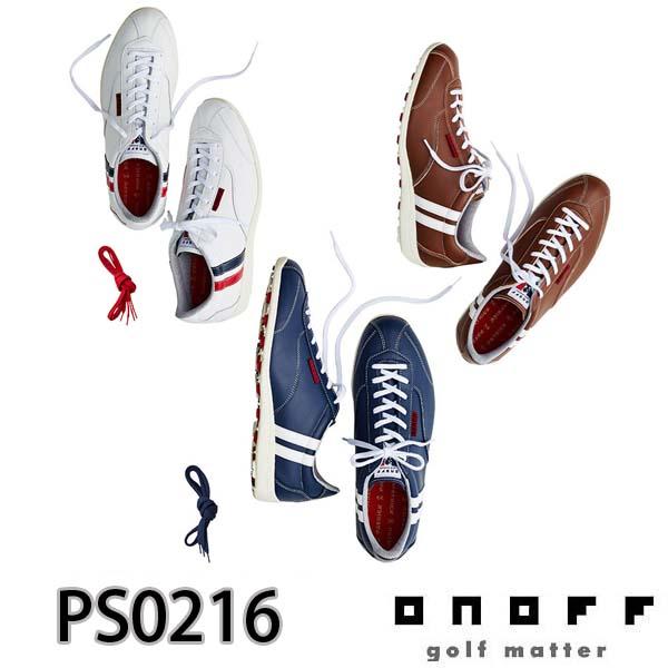 ONOFF/オノフ PS0216 ONOFF×PATRICKコラボレーションコレクション パトリック スパイクレスゴルフシューズ グローブライド/Globeride GOLF SHOES