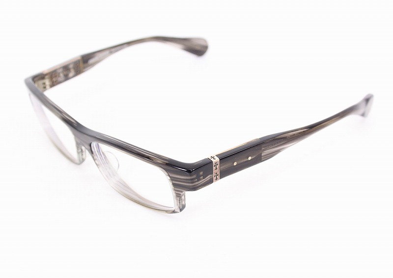 铬赫茨/CHROME HEARTS DISMEMBERED交叉动机层次架子太阳眼镜眼镜((架子)清除黑色风格(透镜)清除)bb51#rinkan*B