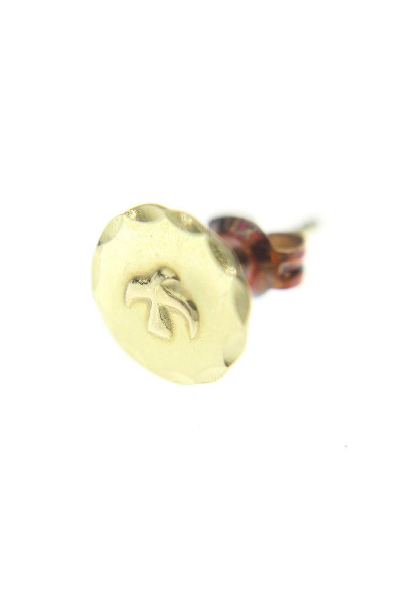 ゴローズ/goro's 【全金ボタンメタルM】ゴールドピアス(M/ゴールド/0.7g)【NO05】【小物】【807061】【中古】bb62#rinkan*B