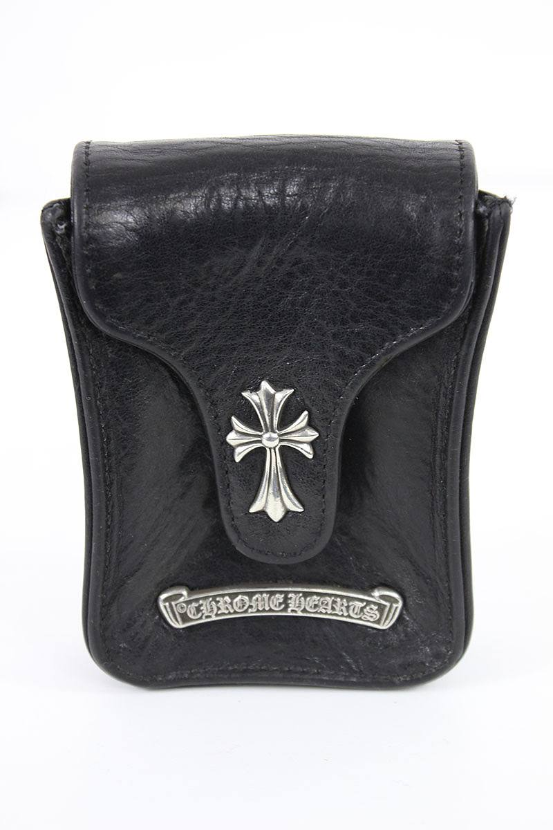 Chromic Hertz /Chrome Hearts cigarette case (black X silver) [CH]bb03#rinkan*B