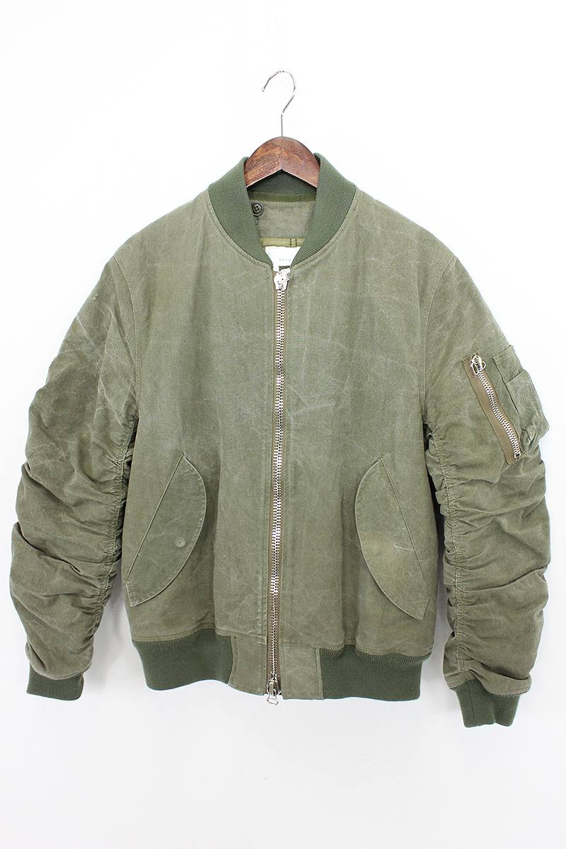 What Stores Accept Paypal Credit >> RINKAN: Ready-made /READYMADE Jesse /MA-1 military jacket ...