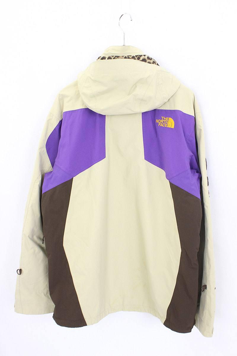 9626153eb シュプリーム /SUPREME X North Face crazy pattern mountain parka blouson (L/ beige  X brown X purple) bb143#rinkan*B