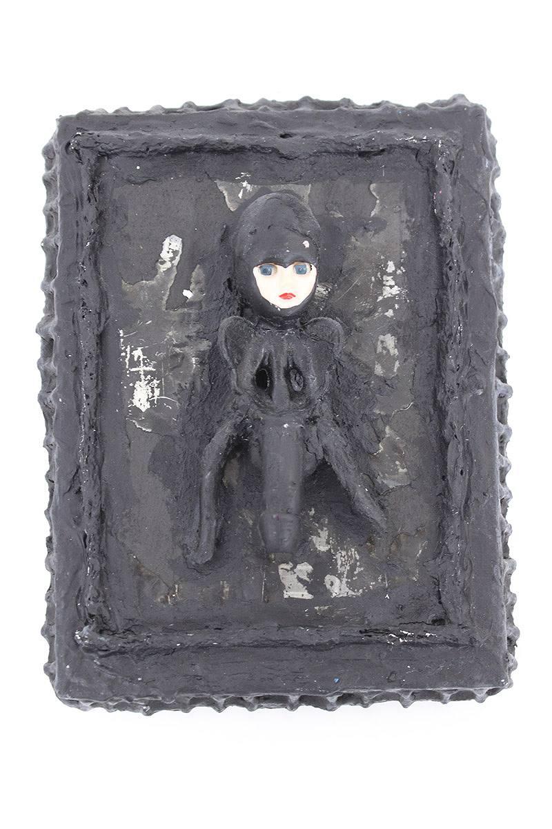 クロムハーツ/Chrome Hearts 【JOE FOTI】ヒューマンモチーフアートオブジェ(ブラック)【SS07】【小物】【916071】【中古】【P】bb69#rinkan*A