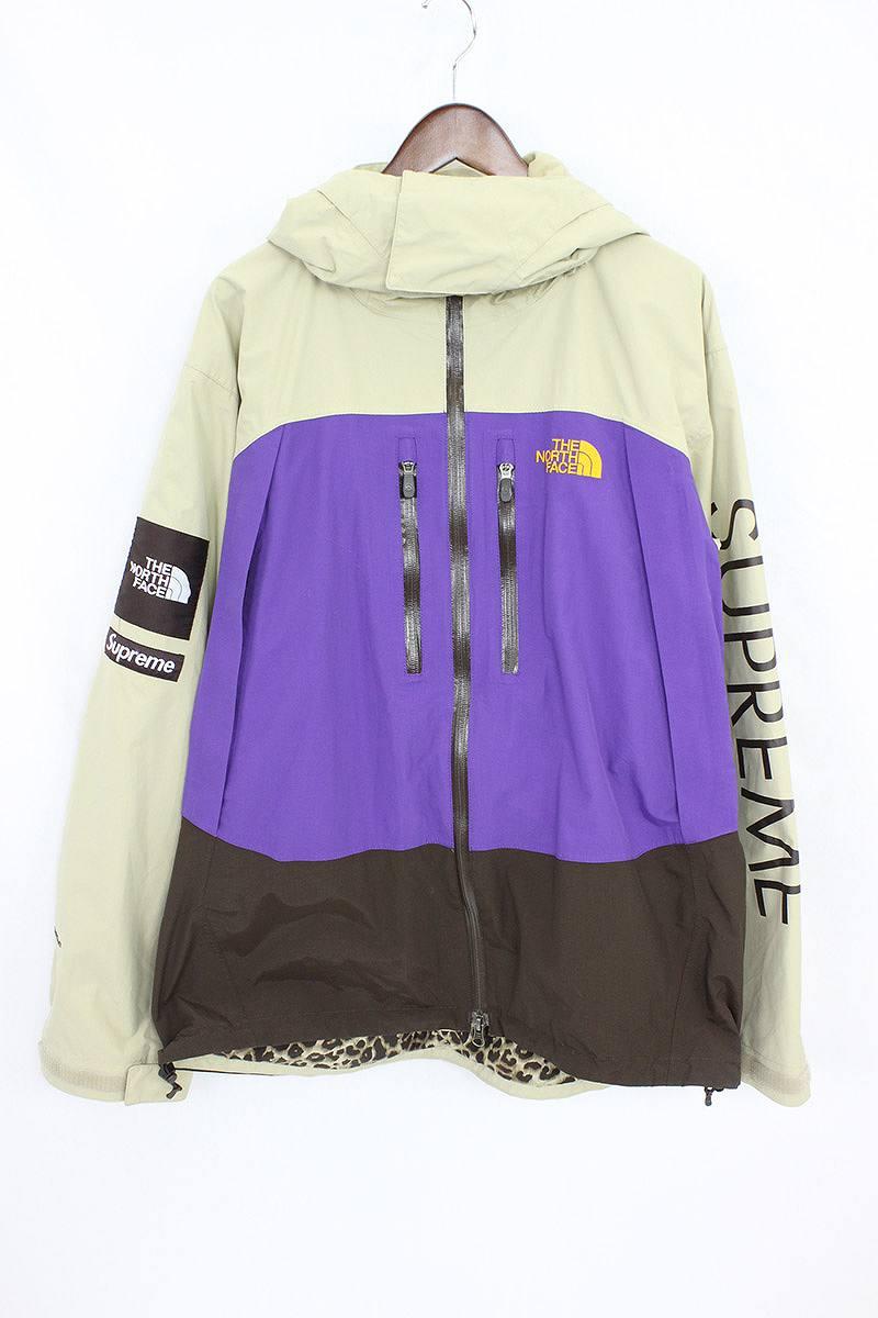 cc7bed5da シュプリーム /SUPREME X North Face crazy pattern mountain parka jacket (L/ beige  X brown X purple) bb14#rinkan*A