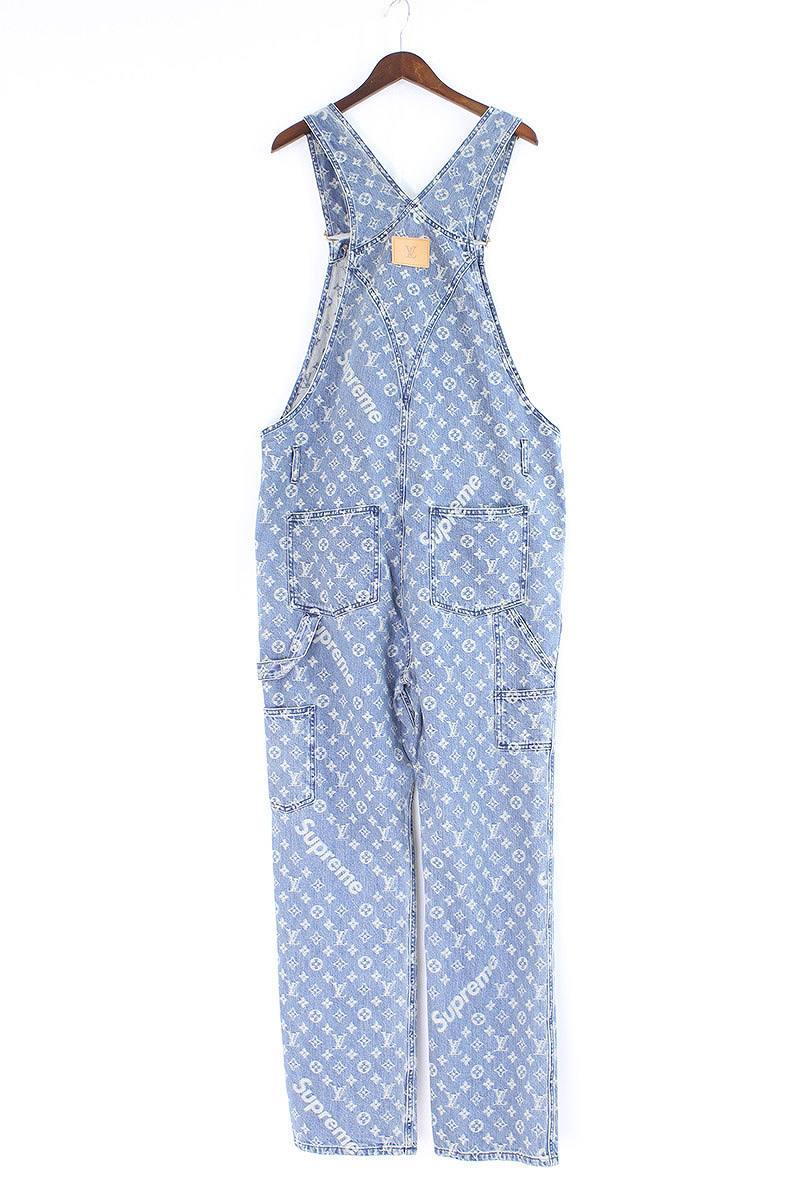 5992bdf2682 X Louis Vuitton [17AW] [LV Jacquard Denim Overalls] X LOUIS VUITTON  jacquard denim overall