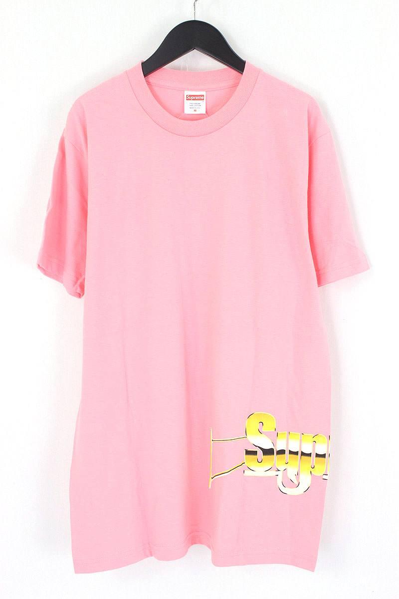 シュプリーム/SUPREME 【17SS】【Automatic Tee】オートマティックTシャツ(M/ピンク)【HJ12】【メンズ】【016081】【中古】【P】bb143#rinkan*S
