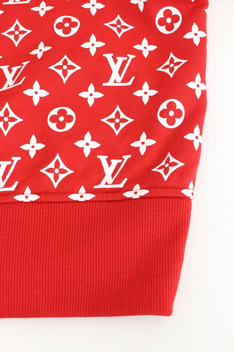 What Stores Accept Paypal Credit >> RINKAN: シュプリーム /SUPREME X Louis Vuitton X LOUIS VUITTON box logo pullover parka (XXL/ red X ...