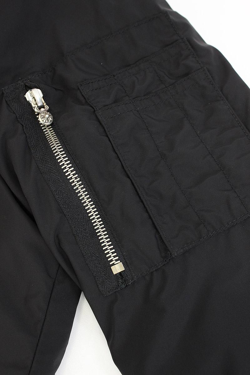 Stores That Accept Paypal Credit Online >> RINKAN: Chromic Hertz /Chrome Hearts rib cashmere MA-1 ...