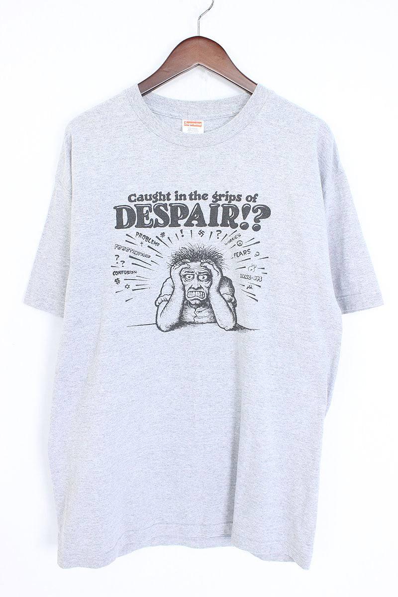 シュプリーム/SUPREME 【07SS】【Despair Tee】フロントプリントTシャツ(L/グレー)【OM10】【メンズ】【726081】【中古】bb131#rinkan*B