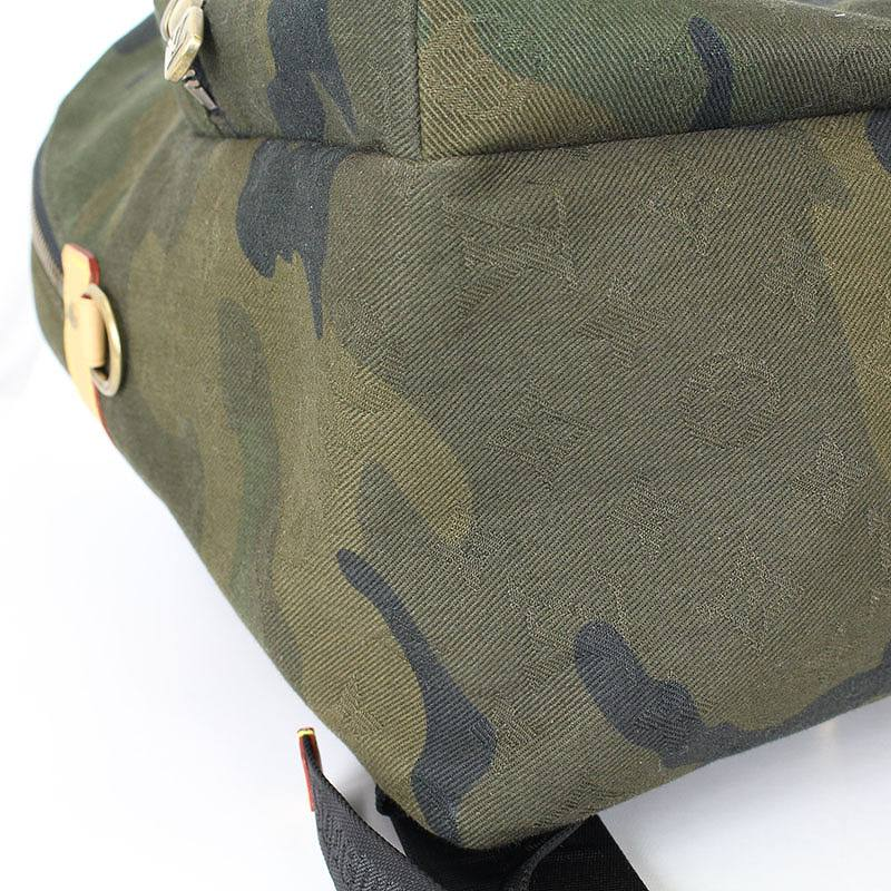 4d7d16b5d8e0 シュプリーム  SUPREME X Louis Vuitton camouflage camouflage pattern rucksack  backpack (olive) bb33 rinkan S
