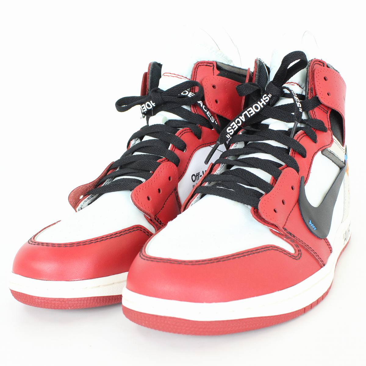 timeless design 57d53 8ae80 Nike /NIKE X off-white Air Jordan 1 sneakers (28.5cm/ red X white)  SB01bb187#rinkan*S