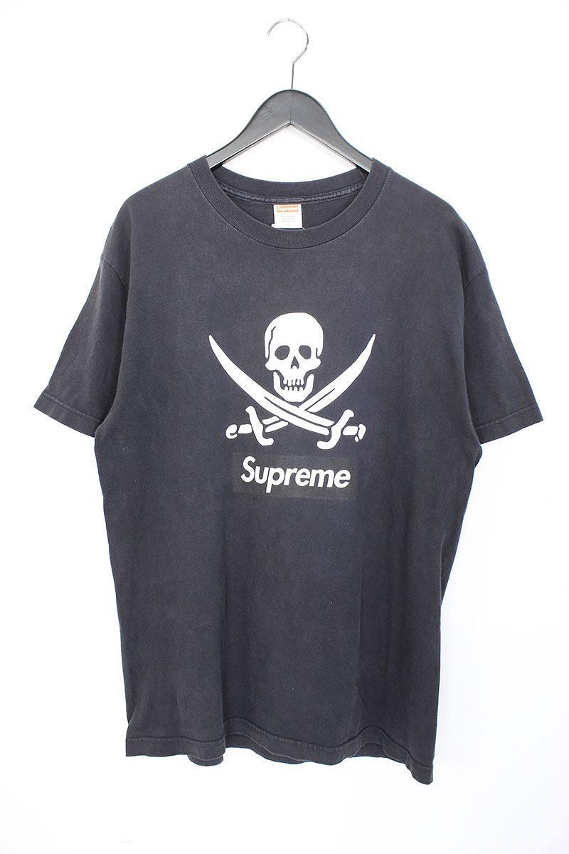 シュプリーム/SUPREME 【07SS】スカルプリントTシャツ(L/ブラック)【SB01】【メンズ】【813081】【中古】【P】bb152#rinkan*B