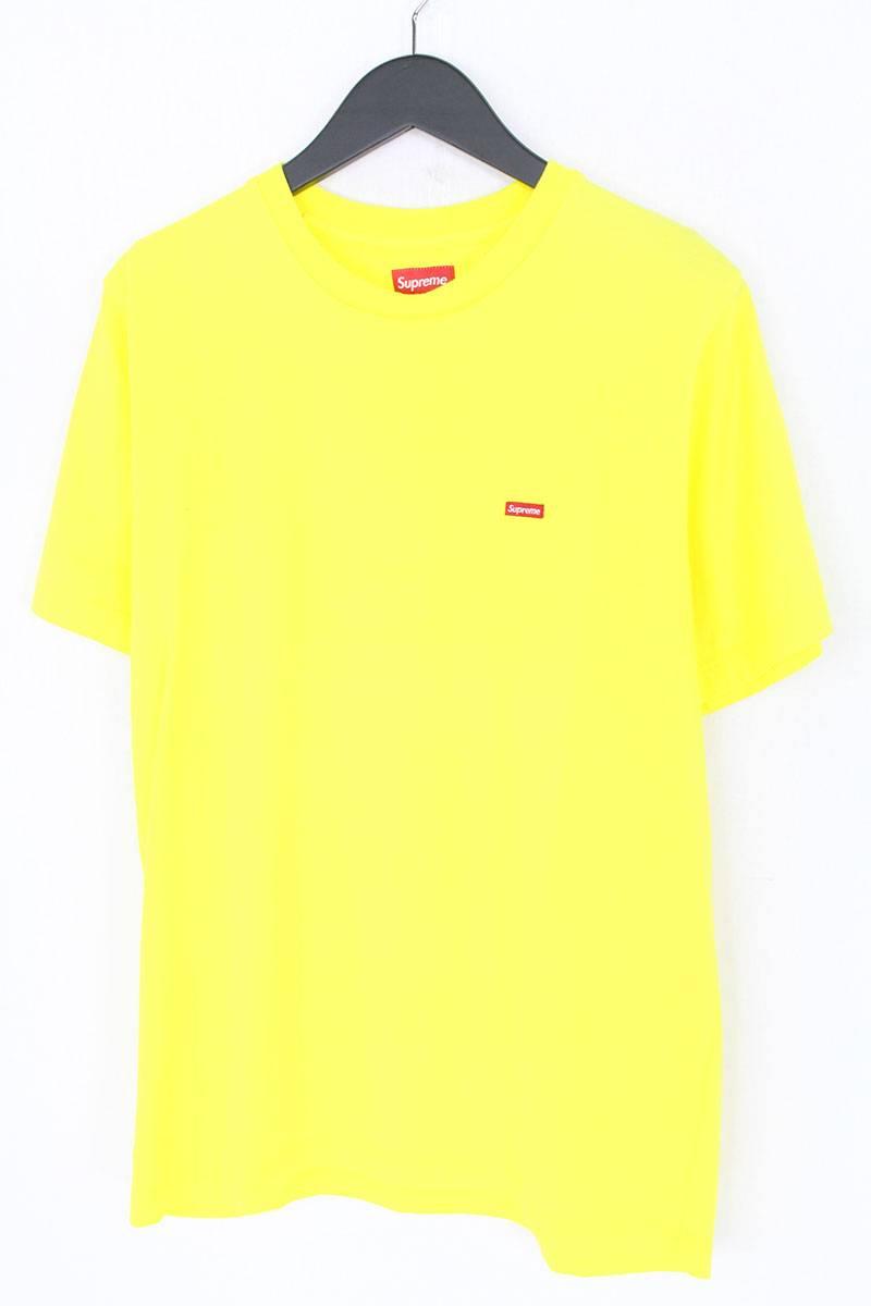 シュプリーム/SUPREME 【Small Box Logo Tee】スモールボックスロゴTシャツ(M/イエロー)【OM10】【メンズ】【426081】【中古】bb177#rinkan*S