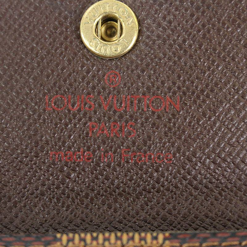 【小物】 【中古】 【101081】 bb169#rinkan*B 【BS99】 【P】 (ブラウン) ルイヴィトン/ ダミエエベヌコインケース LOUISVUITTON 【N62925 ラドロー】