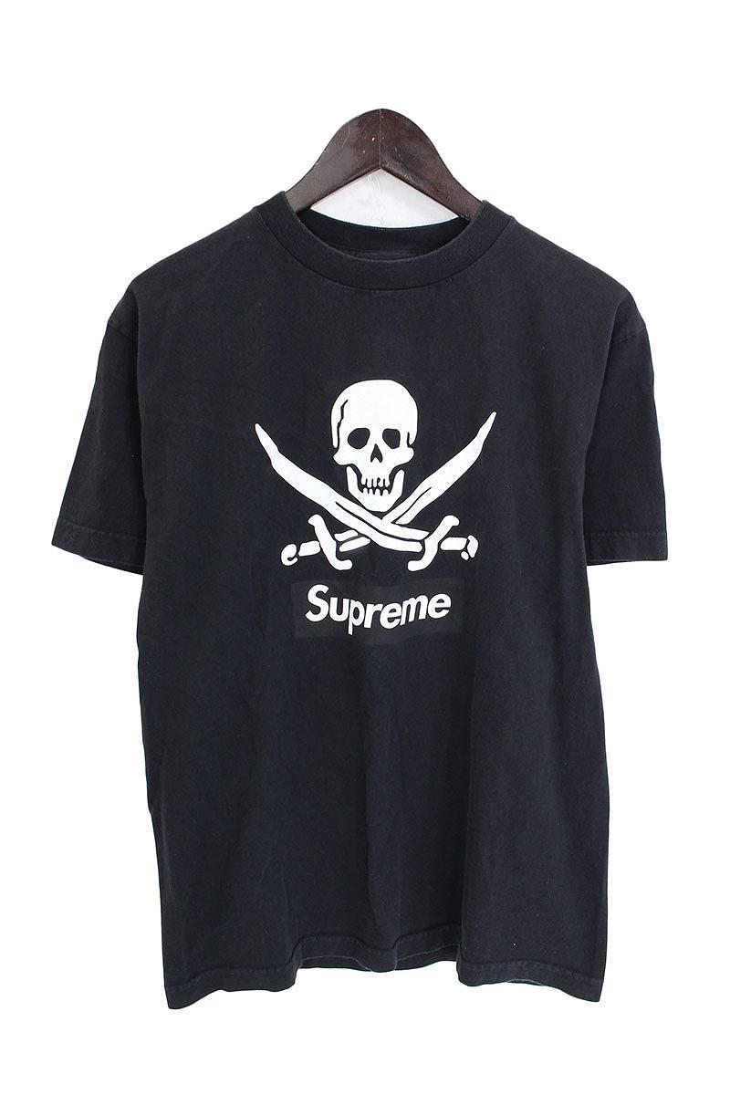 シュプリーム/SUPREME ×ネイバーフッド 【07SS】スカルプリントTシャツ(M/ブラック)【SB01】【メンズ】【101081】【中古】【P】bb157#rinkan*B