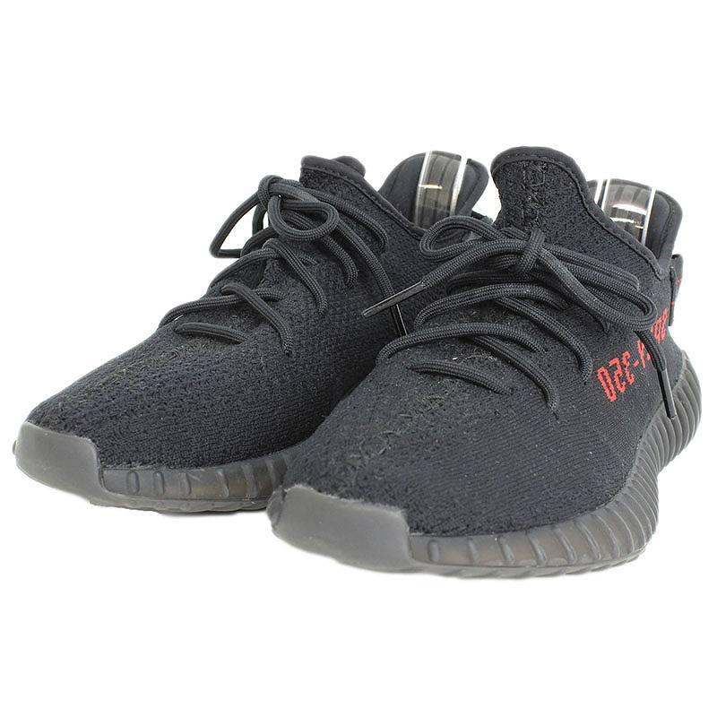 アディダス/adidas 【YEEZY BOOST 350 V2 BRED】【CP9652】ローカットスニーカー(26.5cm/ブラック×レッド)【NO05】【メンズ】【小物】【702081】【中古】bb202#rinkan*B