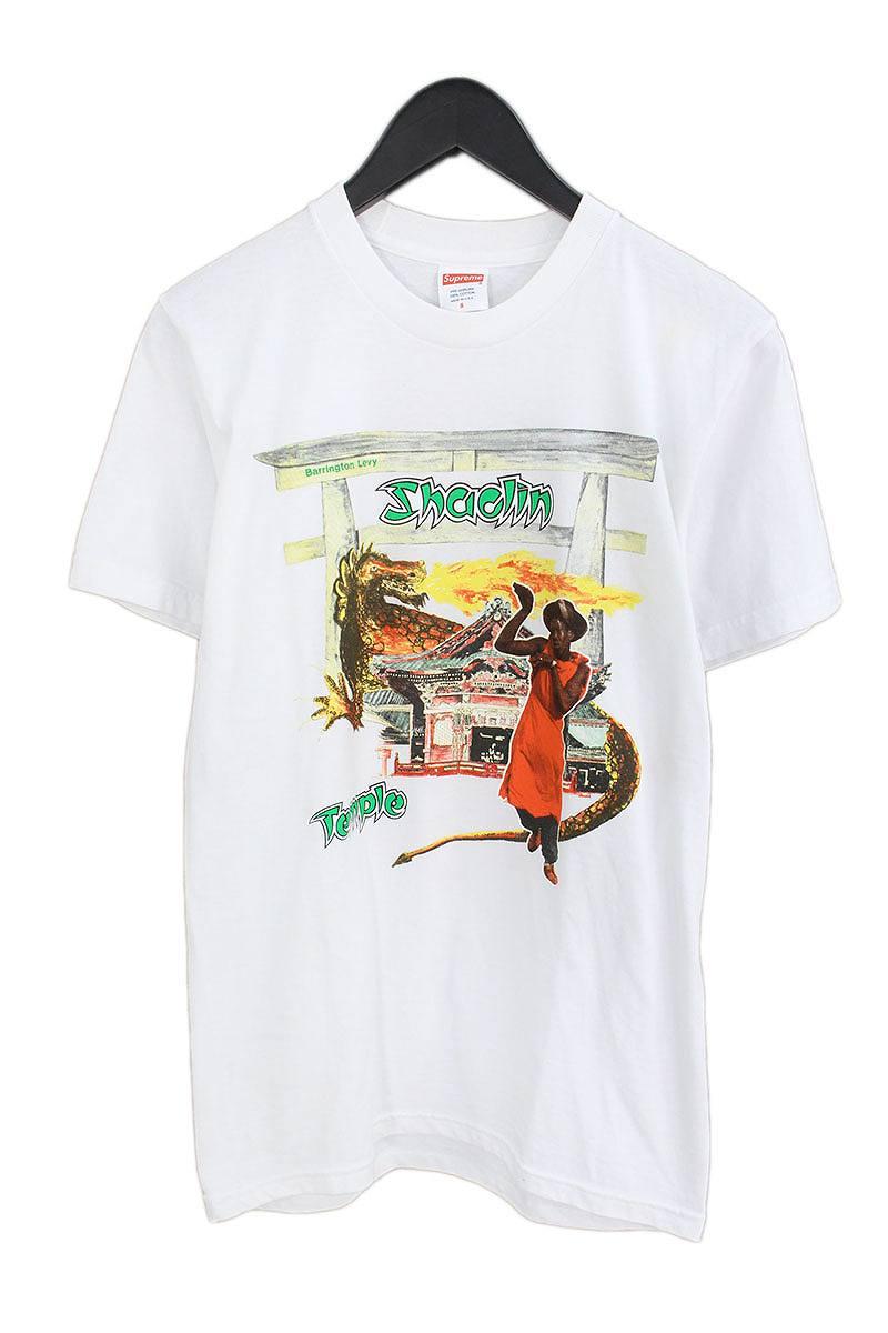 シュプリーム/SUPREME 【16SS】【Shaolin Temple Tee】フロントプリントTシャツ(S/ホワイト)【FK04】【メンズ】【503081】【中古】【P】bb76#rinkan*B