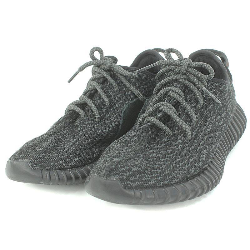 アディダス/adidas ×カニエウエスト 【YEEZY BOOST 350 PIRATE BLACK】【AQ2659】【BB5350】ローカットスニーカー(26cm/ブラック)【SJ02】【メンズ】【小物】【122081】【中古】bb61#rinkan*B