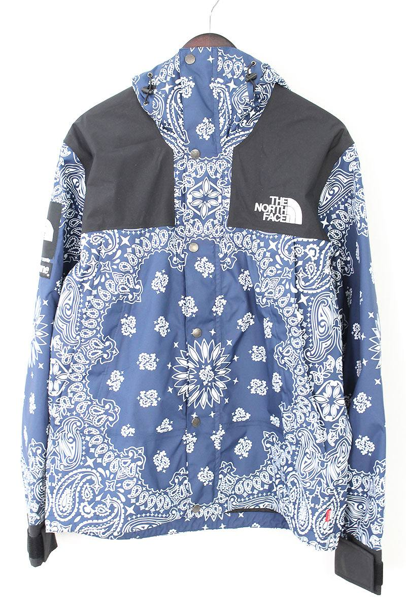 71479671 X North Face /THE NORTH FACE [14AW] [Bandana Mountain Parka] paisley bandana  pattern mountain parka jacket