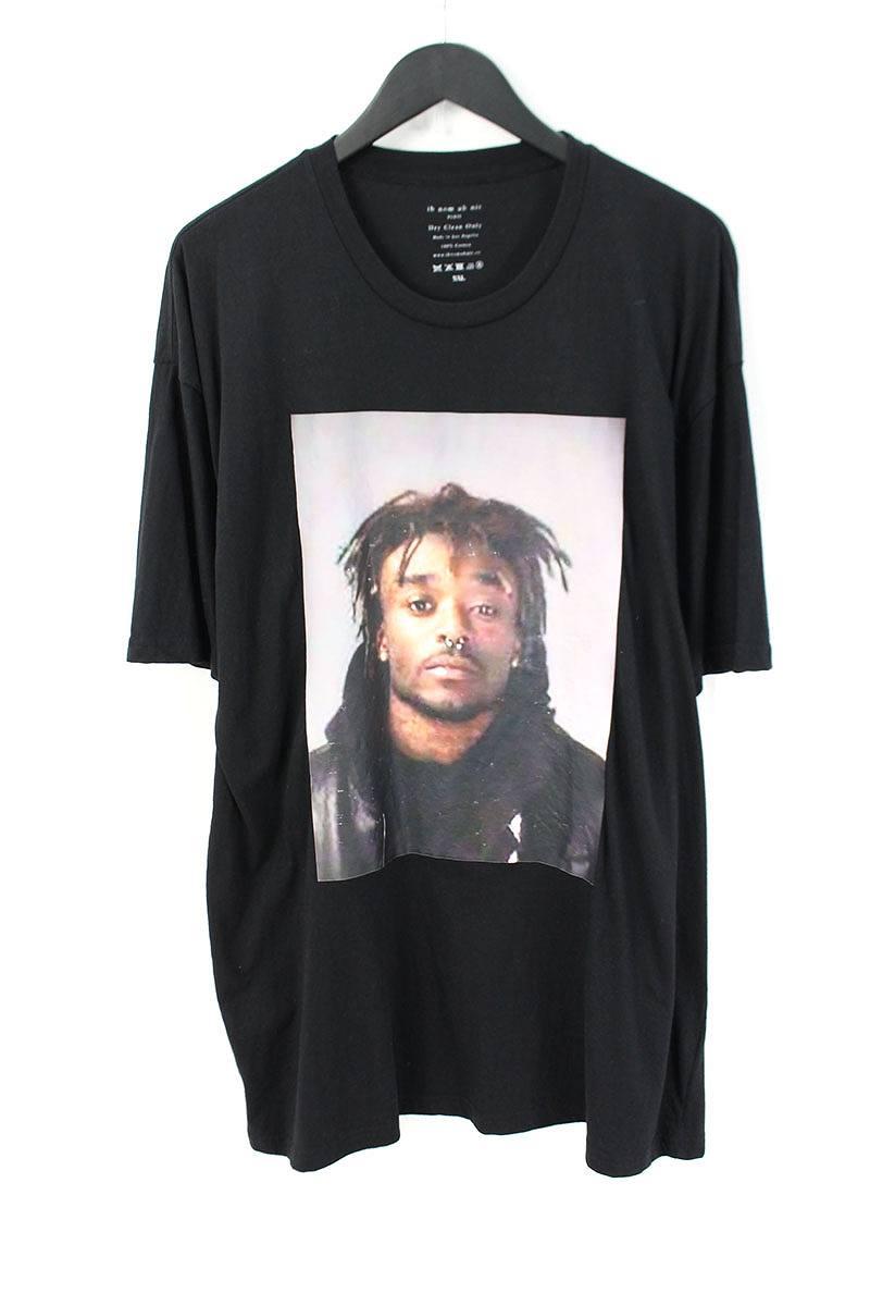 インノミネイト /ih nom uh nit フェイスプリントTシャツ(XXL/ブラック)【BS99】【メンズ】【107081】【中古】bb162#rinkan*A