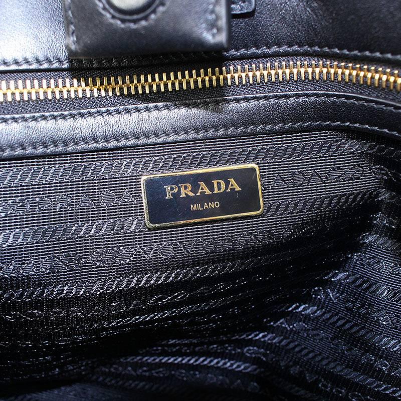 new arrival f7c1d edb47 プラダ サンローラン/PRADA 2WAYサフィアーノレザーハンドバッグ ...