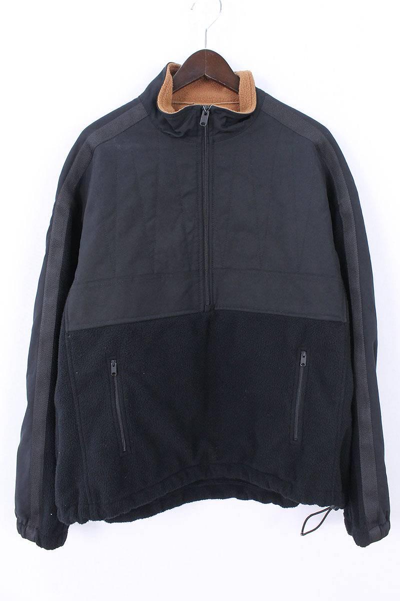イージー/YEEZY 【SEASON3】ハーフジップフリースジャケット(M/ブラック)【BS99】【メンズ】【105081】【中古】bb24#rinkan*B