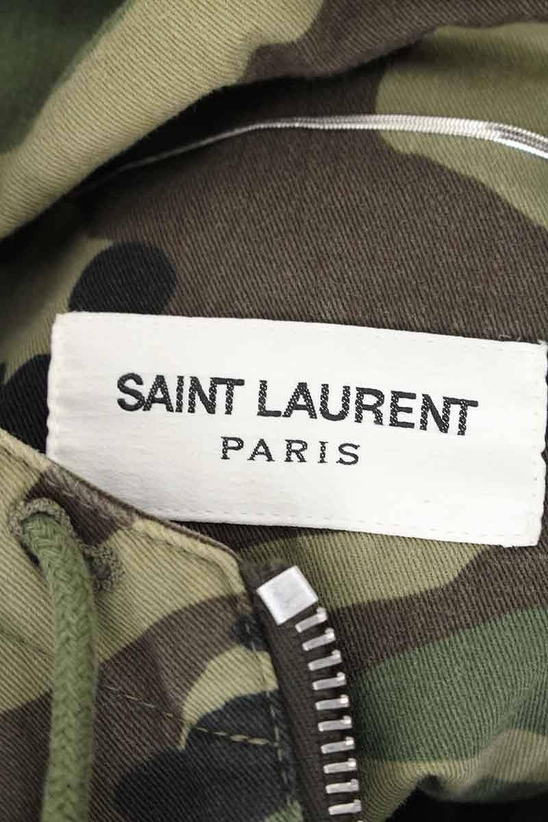 9e736ed0e36ef ... Saint-Laurent Paris /SAINT LAURENT PARIS camouflage camouflage pattern  rocket military coat (52 ...