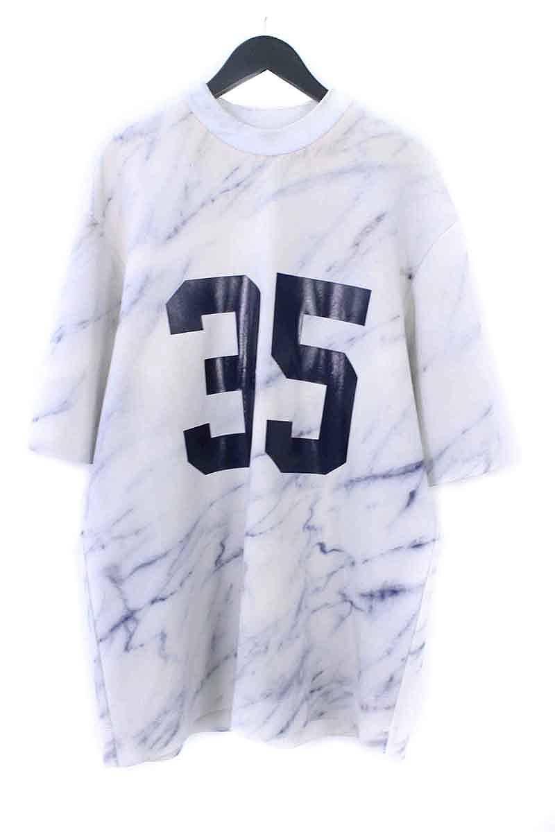 ジュンジー/JUUN.J ナンバリングプリントボンディングTシャツ(46/ライトグレー調)【BS99】【メンズ】【105081】【中古】【P】[less][592#rinkan*C