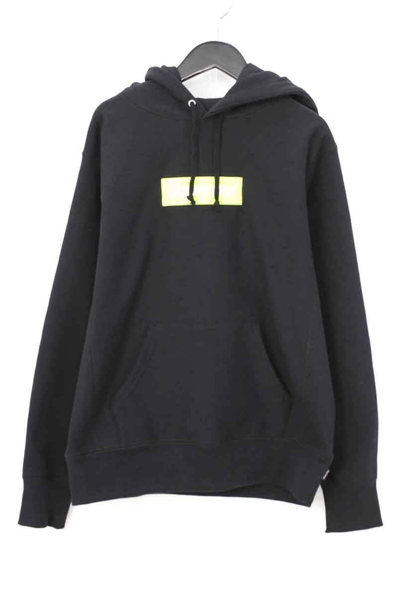シュプリーム/SUPREME 【17AW】【Box Logo Hooded Sweatshirt】ボックスロゴプルオーバーパーカー(S/ブラック)【HJ12】【メンズ】【016081】【中古】bb33#rinkan*S