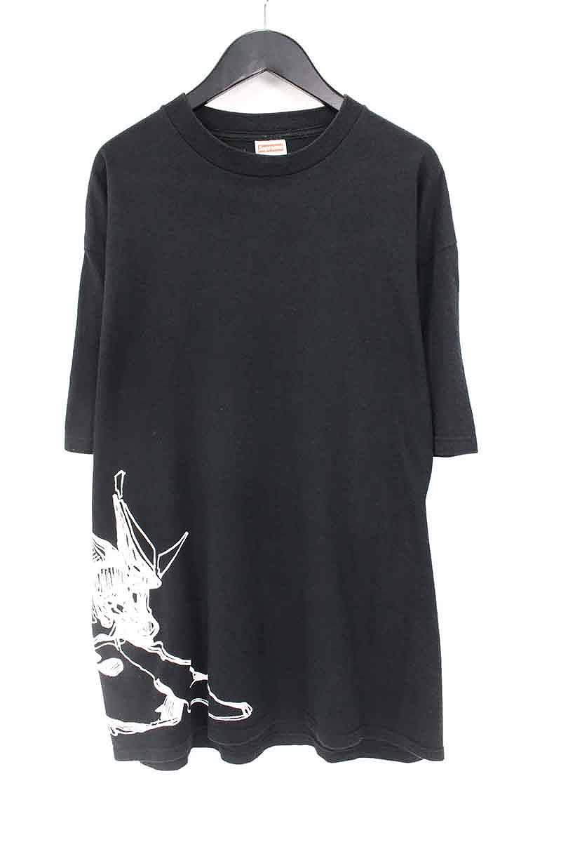 シュプリーム/SUPREME 【06SS】【Dondi Tee】イラストプリントTシャツ(L/ブラック)【OM10】【メンズ】【524081】【中古】【P】bb152#rinkan*B