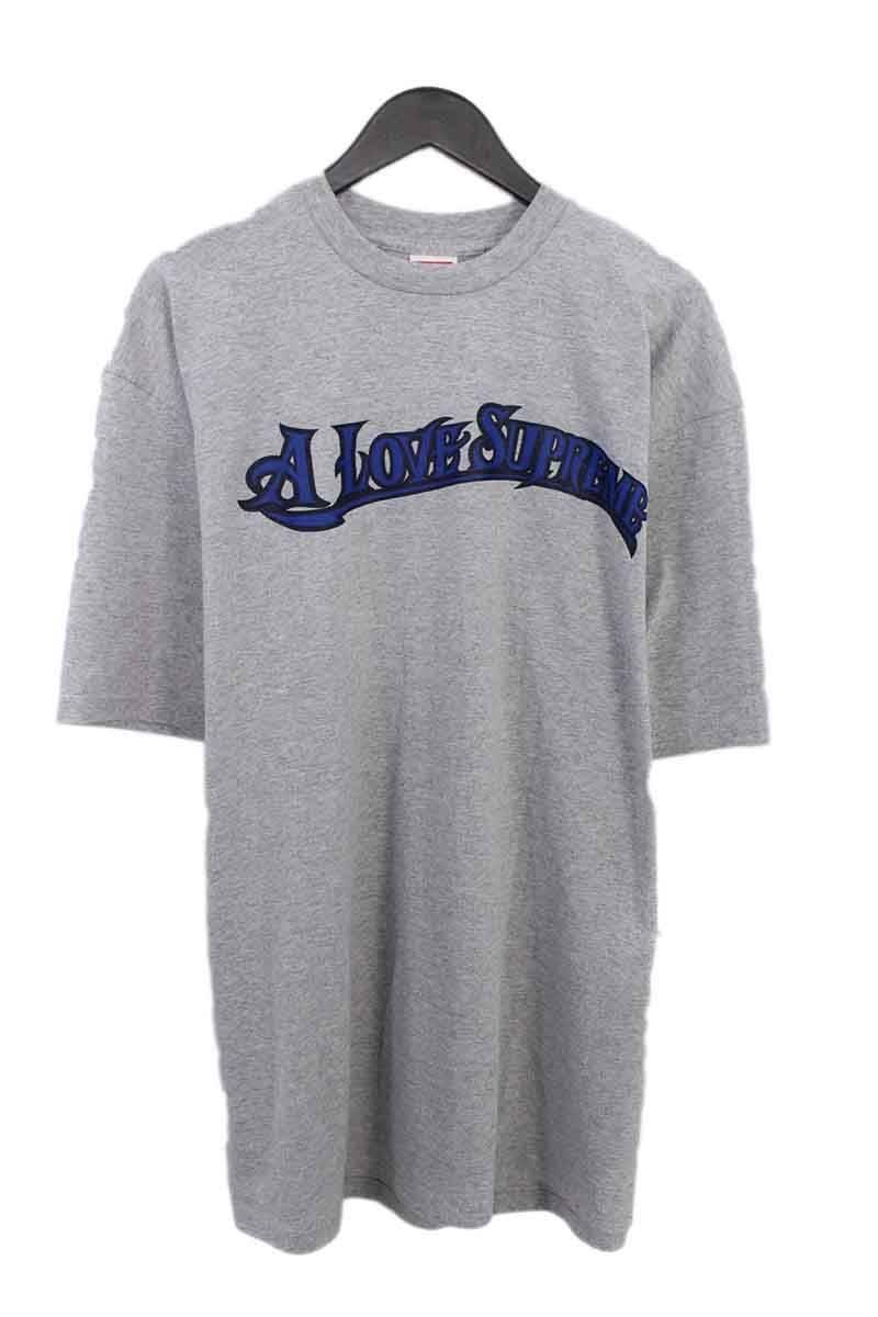シュプリーム/SUPREME 【2002】【A Love Supreme tee】初期ラブシュプリームプリントTシャツ(XL/グレー)【HJ12】【メンズ】【016081】【中古】bb127#rinkan*A