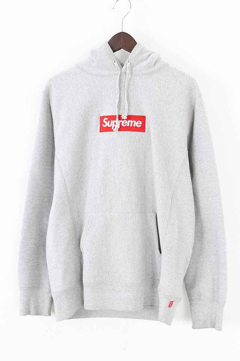 シュプリーム/SUPREME【16AW】【16AW】【Box【Box Hooded Logo Logo Hooded Sweatshirt】ボックスロゴフーデッドスウェットパーカー(M/グレー)【SJ02】【メンズ】【205081】【中古】bb177#rinkan*B, 松川村:ae155ba1 --- sharoshka.org