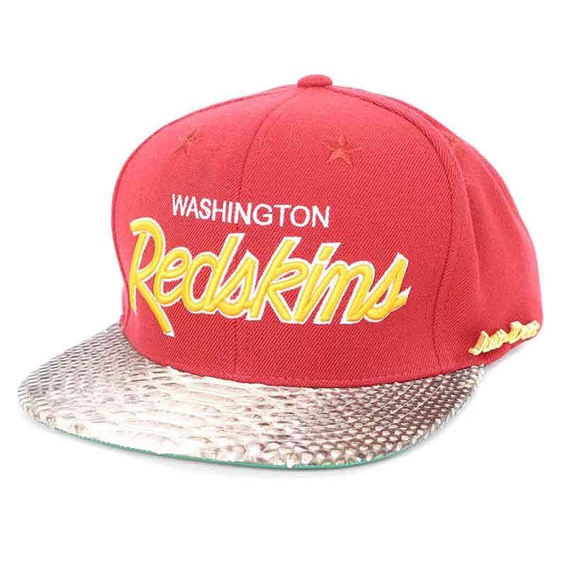 ジャストドン/JUST DON 【RSVP GALLRY】Washington redskinsパイソンキャップ(レッド×ベージュ)【BS99】【小物】【115081】【中古】bb15#rinkan*A