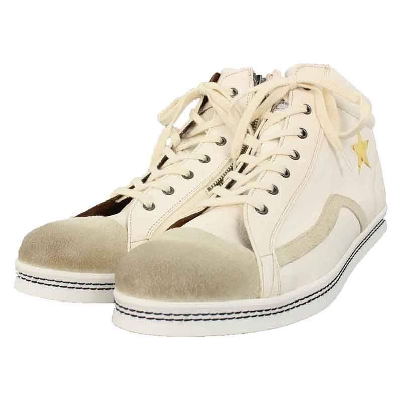 グラム/glamb 【 GB16WT / AC11 Guevara hi-cut sneakers】ゲバラハイカットスニーカー(3/ホワイト)【BS99】【メンズ】【小物】【915081】【中古】bb14#rinkan*S