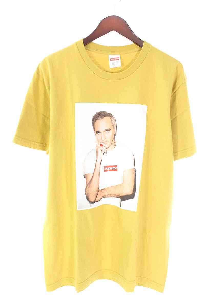 シュプリーム/SUPREME 【16SS】【Morrissey Tee】モリッシープリントTシャツ(L/イエロー)【SB01】【メンズ】【015081】【中古】bb177#rinkan*B