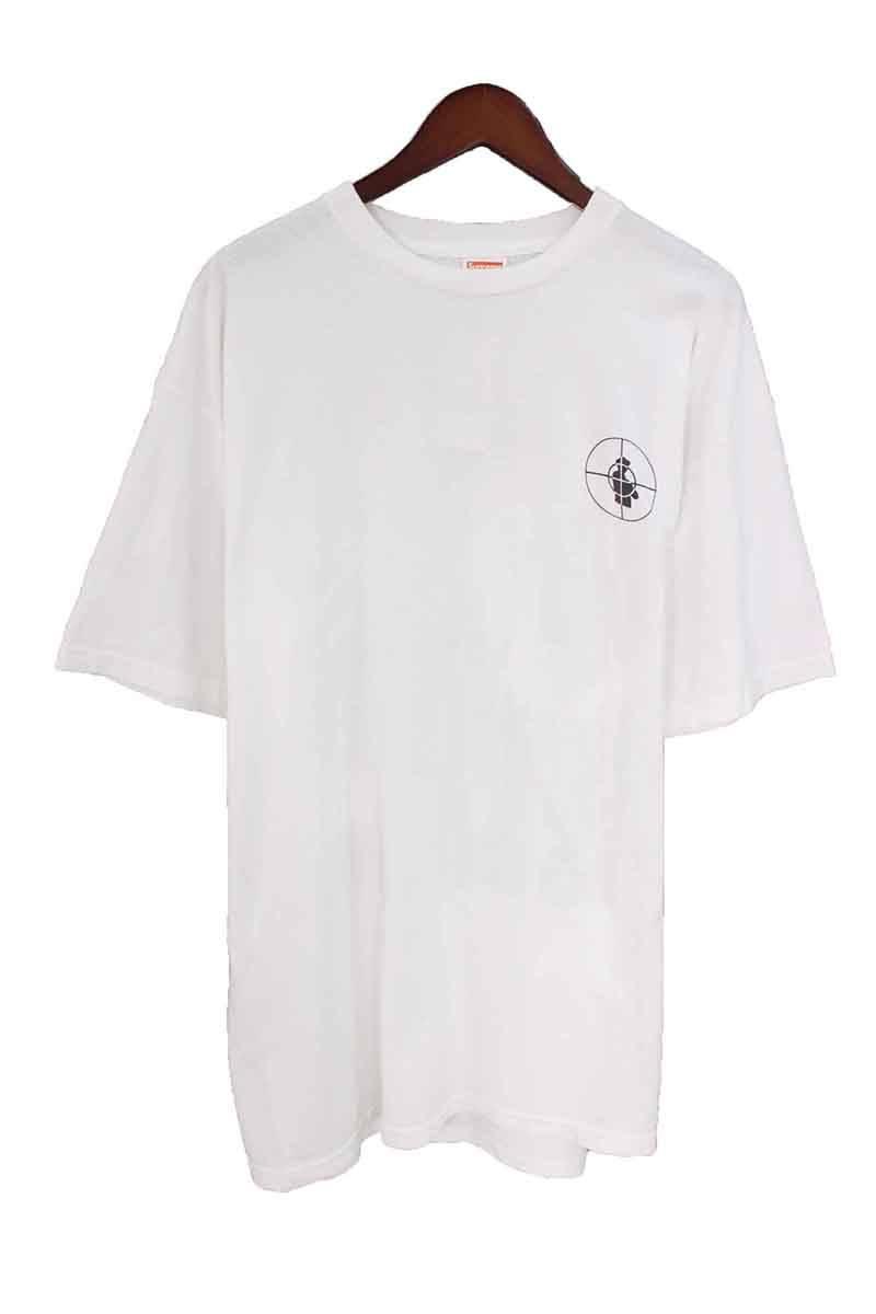 シュプリーム/SUPREME 【06SS】【Nation Of Millions Tee】×PUBLICENEMYロゴプリントTシャツ(XL/ホワイト)【OM10】【メンズ】【315081】【中古】bb127#rinkan*B